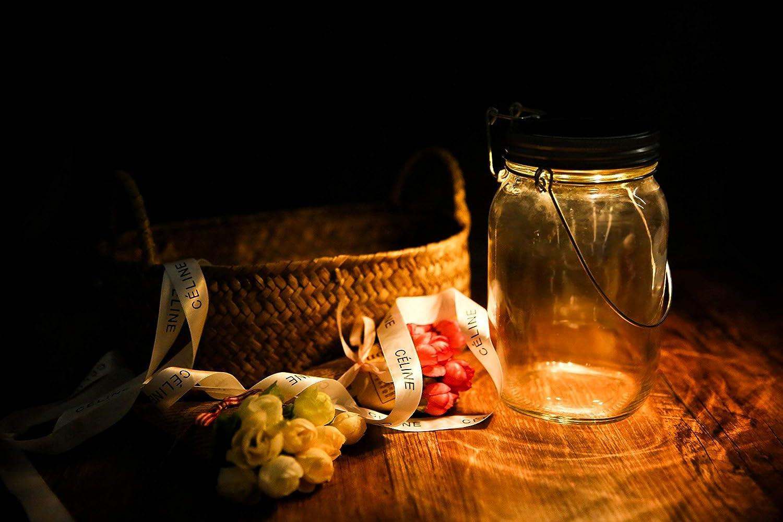 Lampada Con Barattolo Di Vetro : Casabasics sun jar lampada lanterna solare in barattolo in vetro