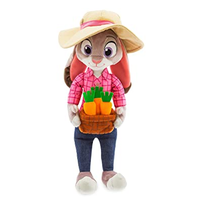 Disney Judy Hopps Plush - Medium - 16 Inch - Zootopia: Toys & Games