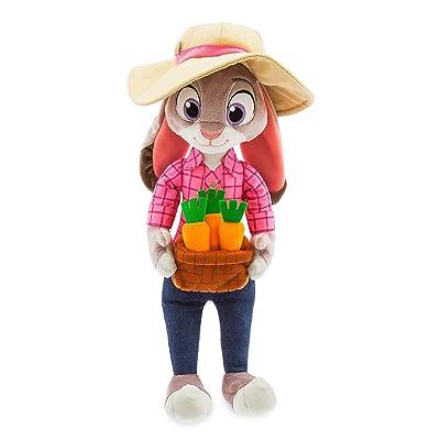 Disney Judy Hopps Plush - Medium - 16 Inch - Zootopia: Toys & Games