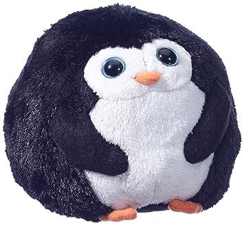Ty 7138000 Beanie Ballz - Pingüino de peluche en forma de bola, 12 cm [