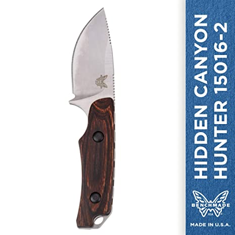 Amazon.com: Cuchillo de caza Benchmade Hidden Canyon, con ...