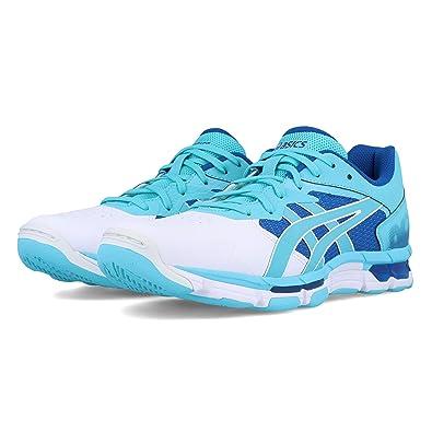 0191d05a9c977 ASICS Netburner Academy 8 Women's Netball Shoes - AW19: Amazon.co.uk ...