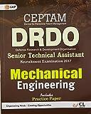 DRDO (CEPTAM) Senior Technical Assistant Mechanical Engineering 2017
