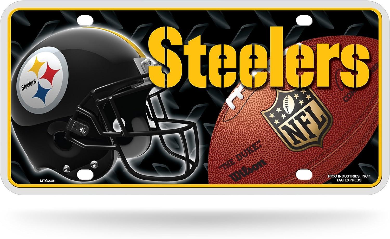 Rico NFL Metal License Plate Tag