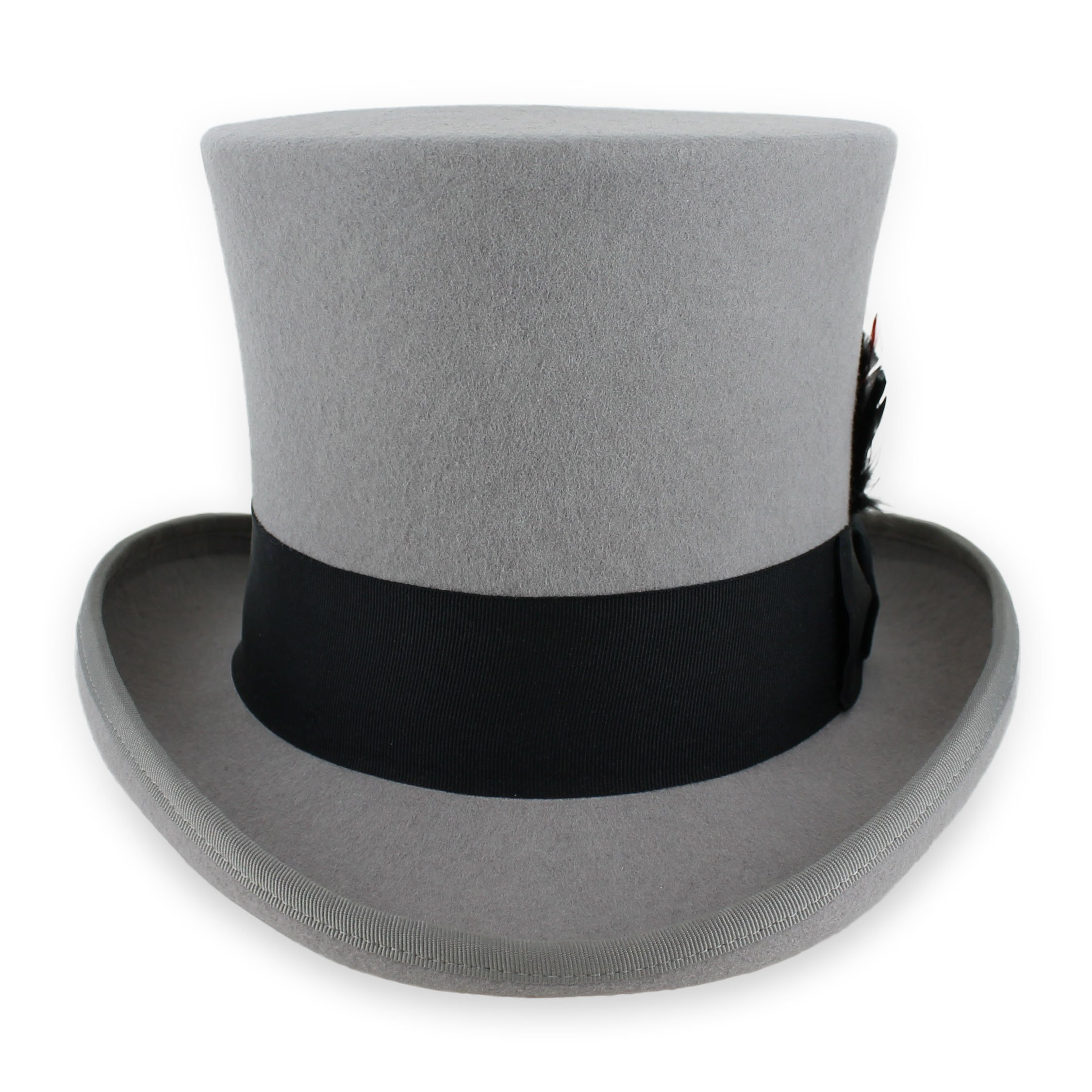 079c185e Belfry Top Hat Theater Quality 100% Wool in Black Grey or Pearl product  image