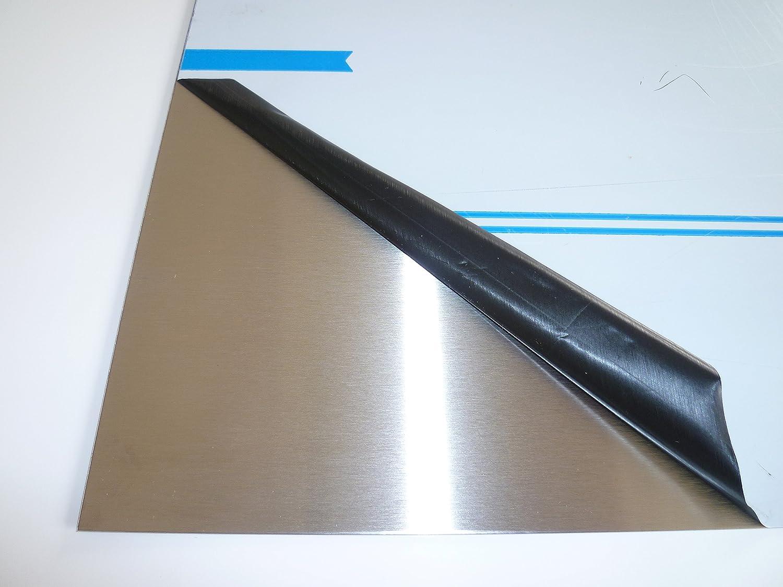 10 x 40 cm B/&T Metall Aluminium Platte blank gewalzt natur Gr/ö/ße 100 x 400 mm 8,0mm stark