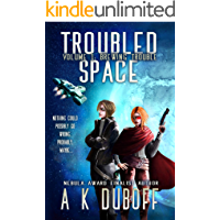 Troubled Space - Vol. 1 Brewing Trouble: A Comedic Space Opera Adventure book cover