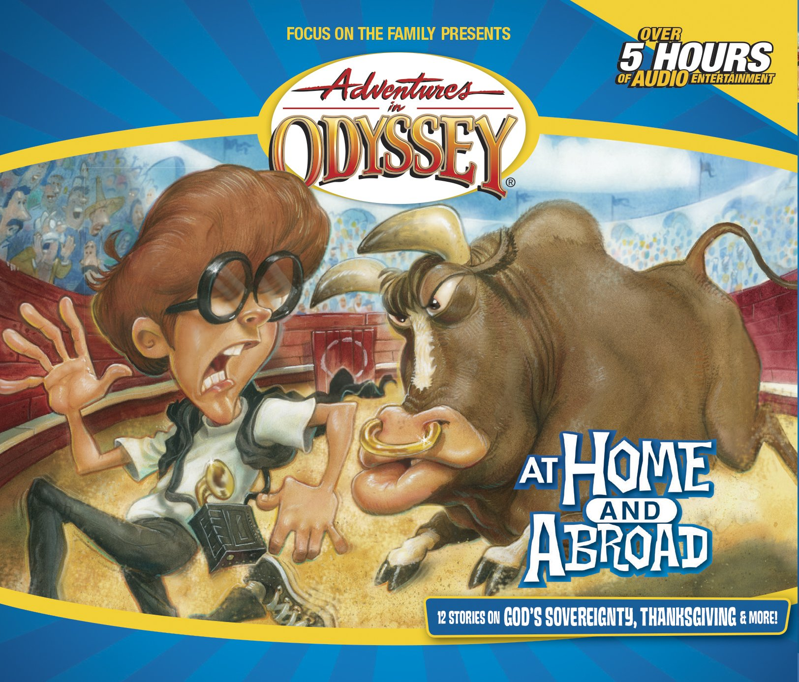 Download At Home and Abroad (Adventures in Odyssey Gold Audio Series #12) PDF