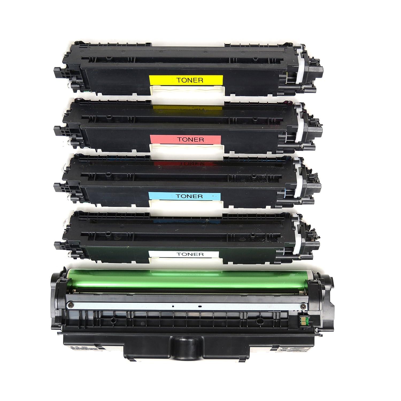 4 Logic-Seek – Tóner Tóner – con tambor compatible con HP CF350 A CF351 A CF352 A CF353 A CE314 A fb94c9
