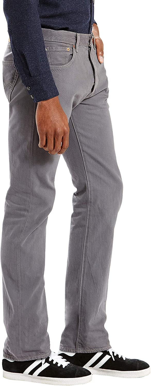 Levi's 501 Original Fit Jeans Homme Dark Charcoal Garment Dye