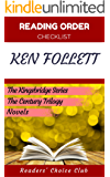Reading order checklist: Ken Follett - Series read order: The Kingsbridge Series, The Century Trilogy, Novels