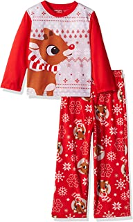 Rudolph the Red Nosed Reindeer Christmas Holiday Family Sleepwear Pajamas  (Adult Kid Toddler da9910ec9