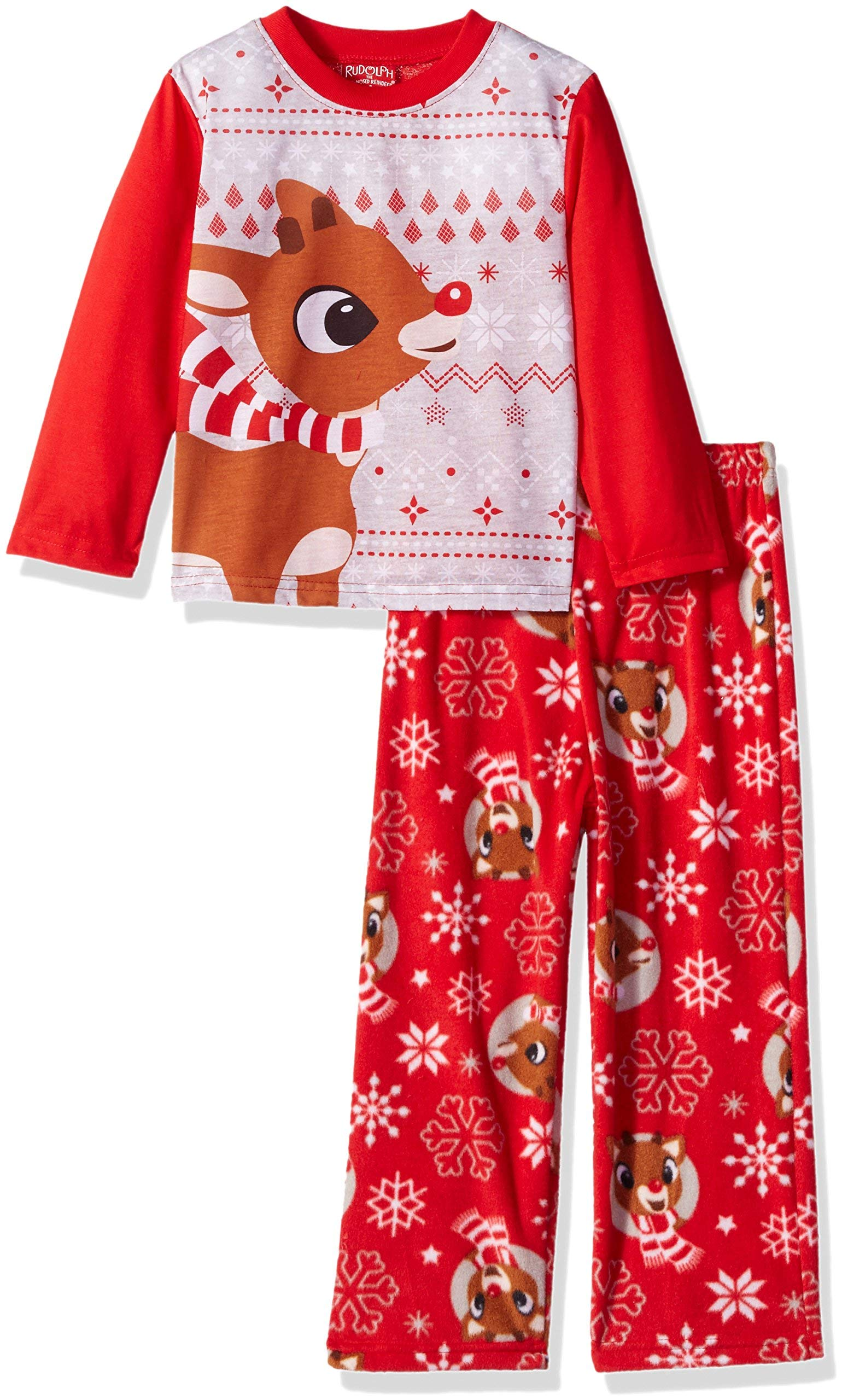 Rudolph the Red Nosed Reindeer Christmas Holiday Family Sleepwear Pajamas  (6 c1cfa8e18