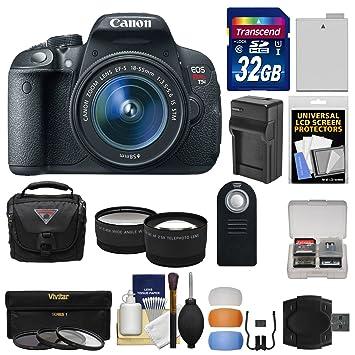 Amazon.com: Canon EOS Rebel T5i cámara réflex digital + ...