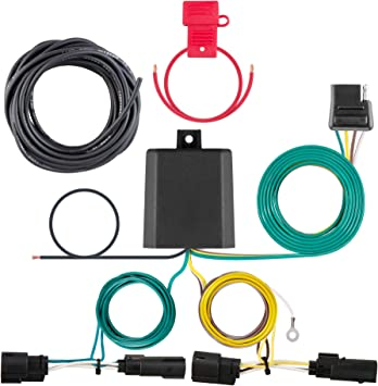 Amazon.com: CURT 56327 Vehicle-Side Custom 4-Pin Trailer Wiring Harness for  Select Ford Transit: AutomotiveAmazon.com