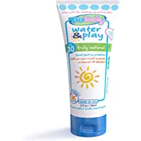 TruBaby Water & Play Baby Sunscreen, SPF 30 – 2.0 oz. – Unscented Mineral Sunscreen for Babies and Kids, 100% Natural…