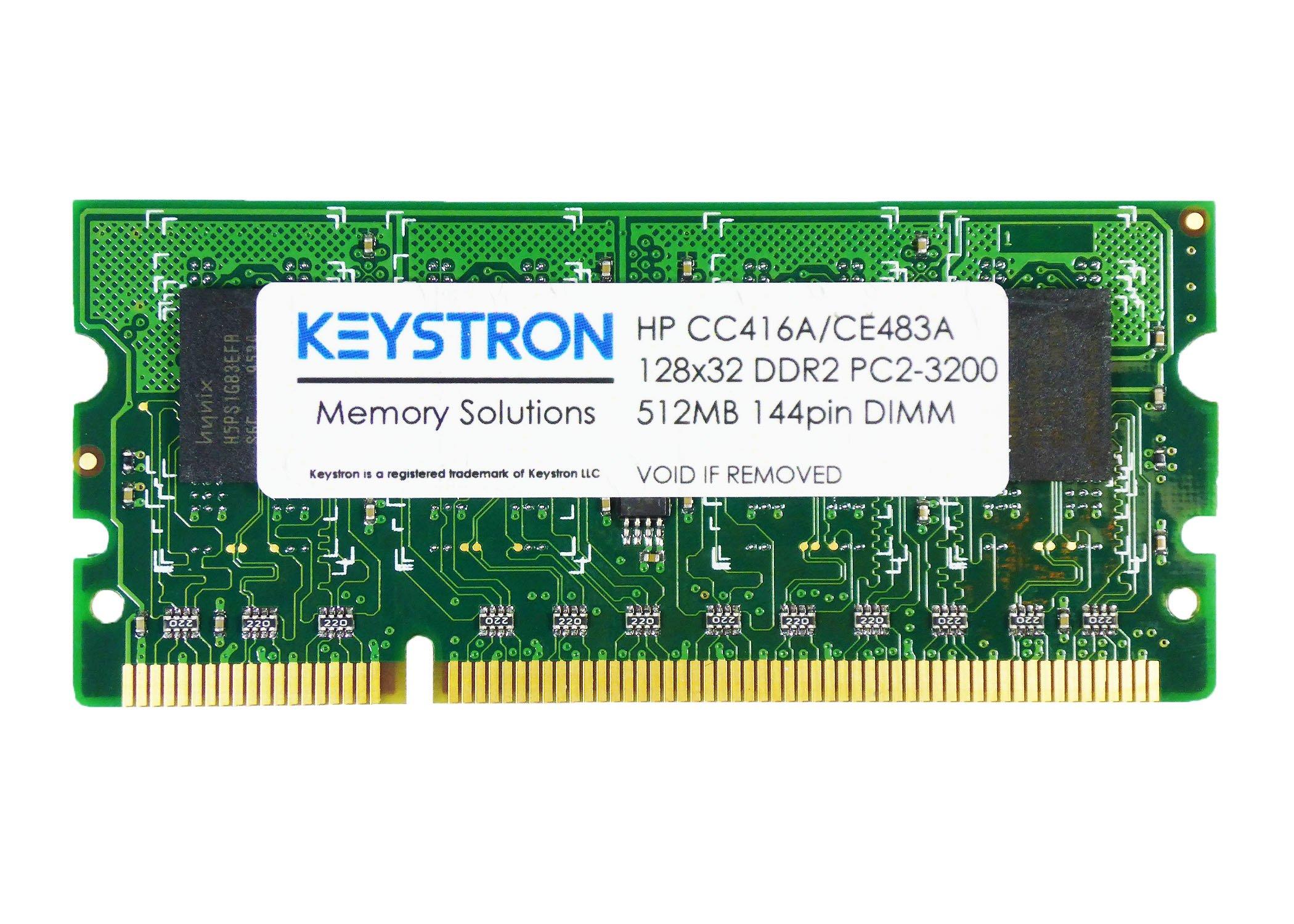 512MB 144pin DDR2 x32 Memory DIMM for HP LaserJet Enterprise 600 printer M601 series M601n, M601dn