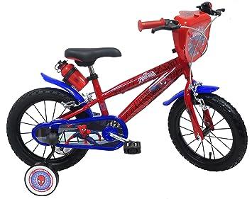 Bicicleta para niño Spiderman 14, 4 / 6 años