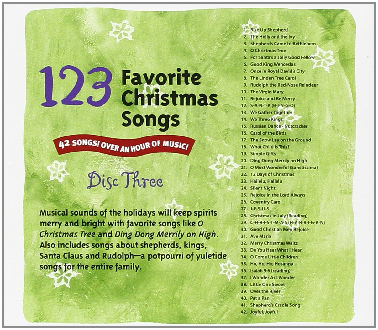 123 Favorite Christmas Songs - 123 Favorite Christmas Songs - Amazon ...
