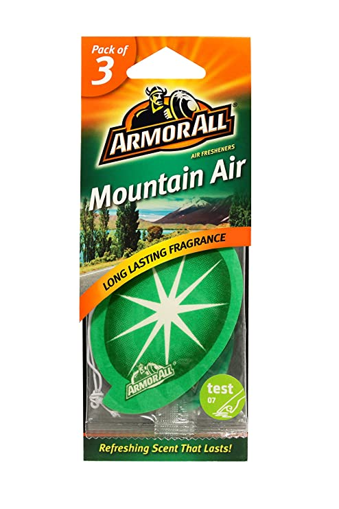 Amazon.com: Armor All 78522 New Car Air Freshener Card, (Pack of 3): Automotive