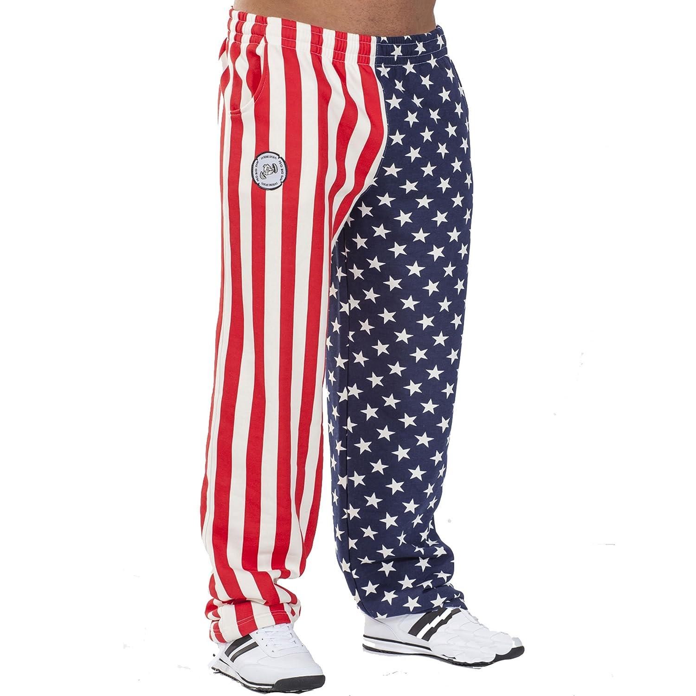 BIG SM EXTREME SPORTSWEAR Herren Jogginghose Amerika Bodyhose USA 1051
