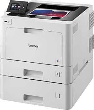 Brother Business Color Laser Printer, HL-L8360CDWT, Wireless Networking, Automatic Duplex Printing, Mobile Printing, Cloud Printing, Amazon Dash ...