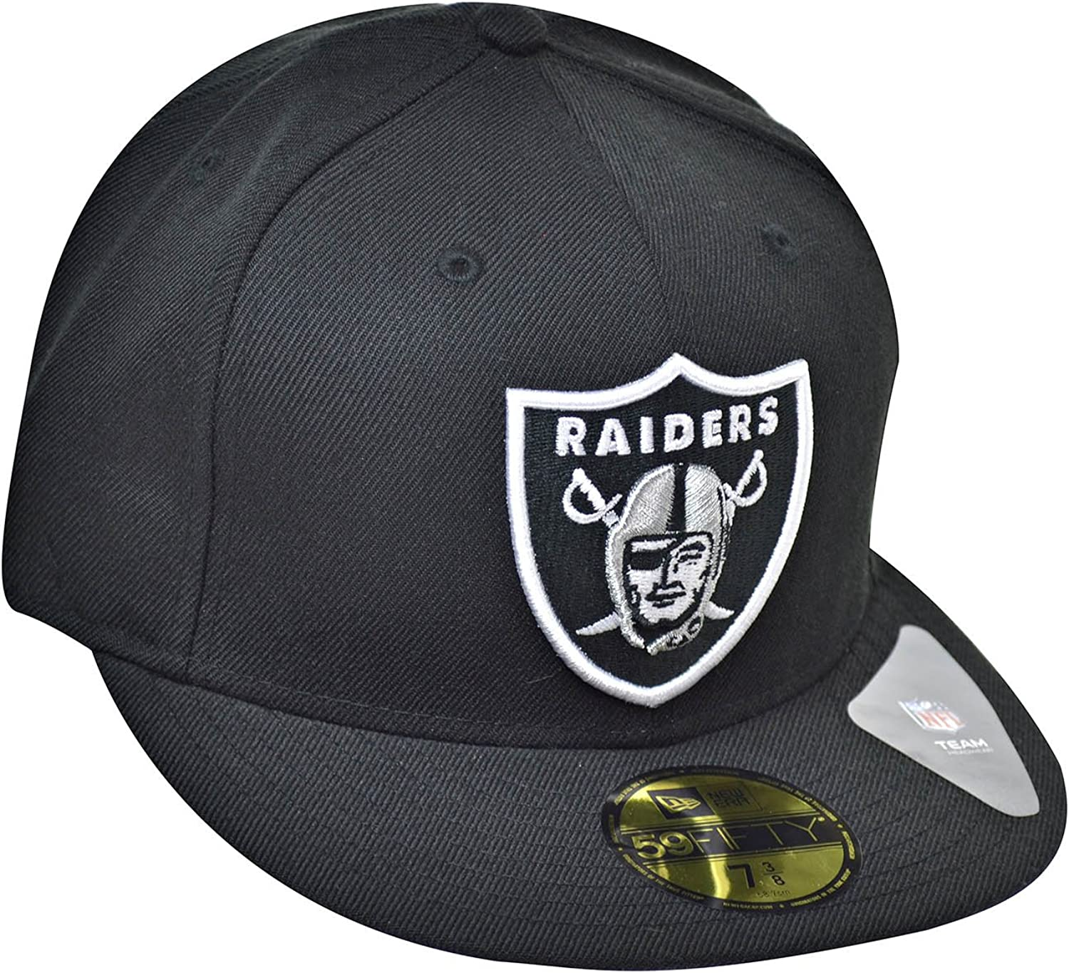 New Era 59Fifty Fitted Cap HEATHER Oakland Raiders graphit