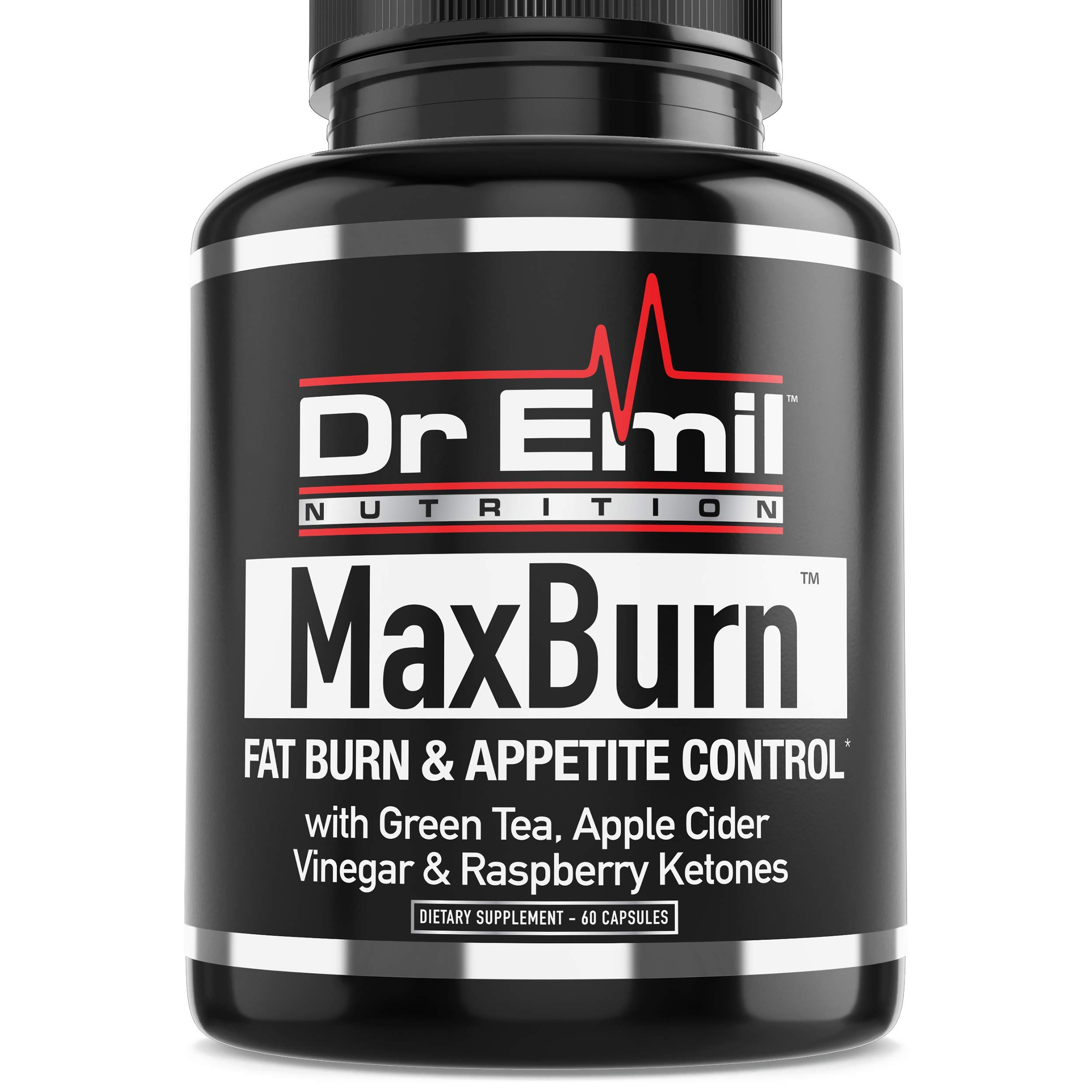 Dr. Emil - Thermogenic Fat Burner For Men and Women - Weight Loss Pills, Metabolism Booster and Appetite Suppressant (60 vegan diet pills) by DR EMIL NUTRITION