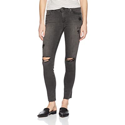 AG Adriano Goldschmied Women's Legging Super Skinny Ankle Destructed Jean: Clothing