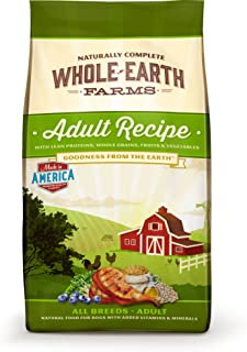 product image for Whole Earth Farms Adult Recipe Dry Dog Food, 5-Pound