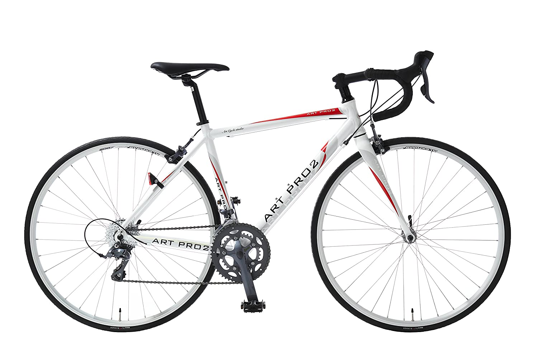 Artcyclestudio(アートサイクルスタジオ) ロードバイク a1300 B01BTPC55C 465mm|ホワイト ホワイト 465mm