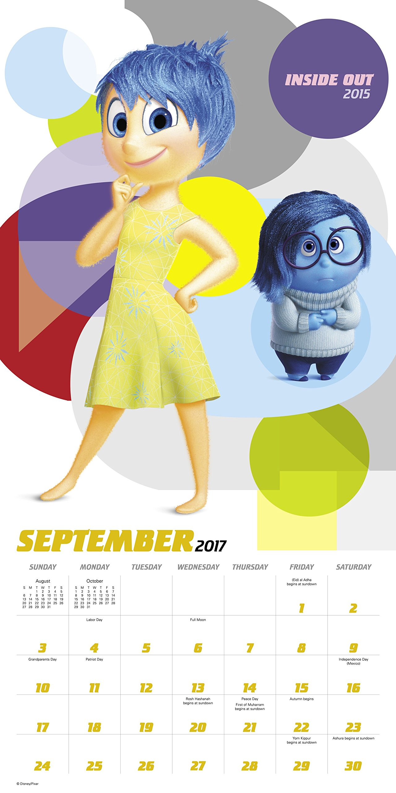 Disney PIXAR Wall Calendar (2017): Day Dream: 9781629058214: Amazon ...