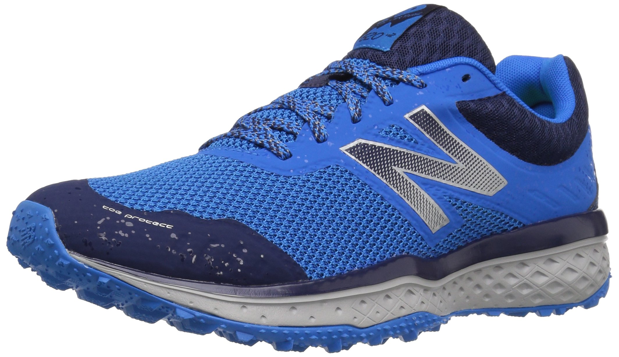 New Balance Mens Cushioning 620V2 Trail Running Shoe, Dark Denim, 11 D US