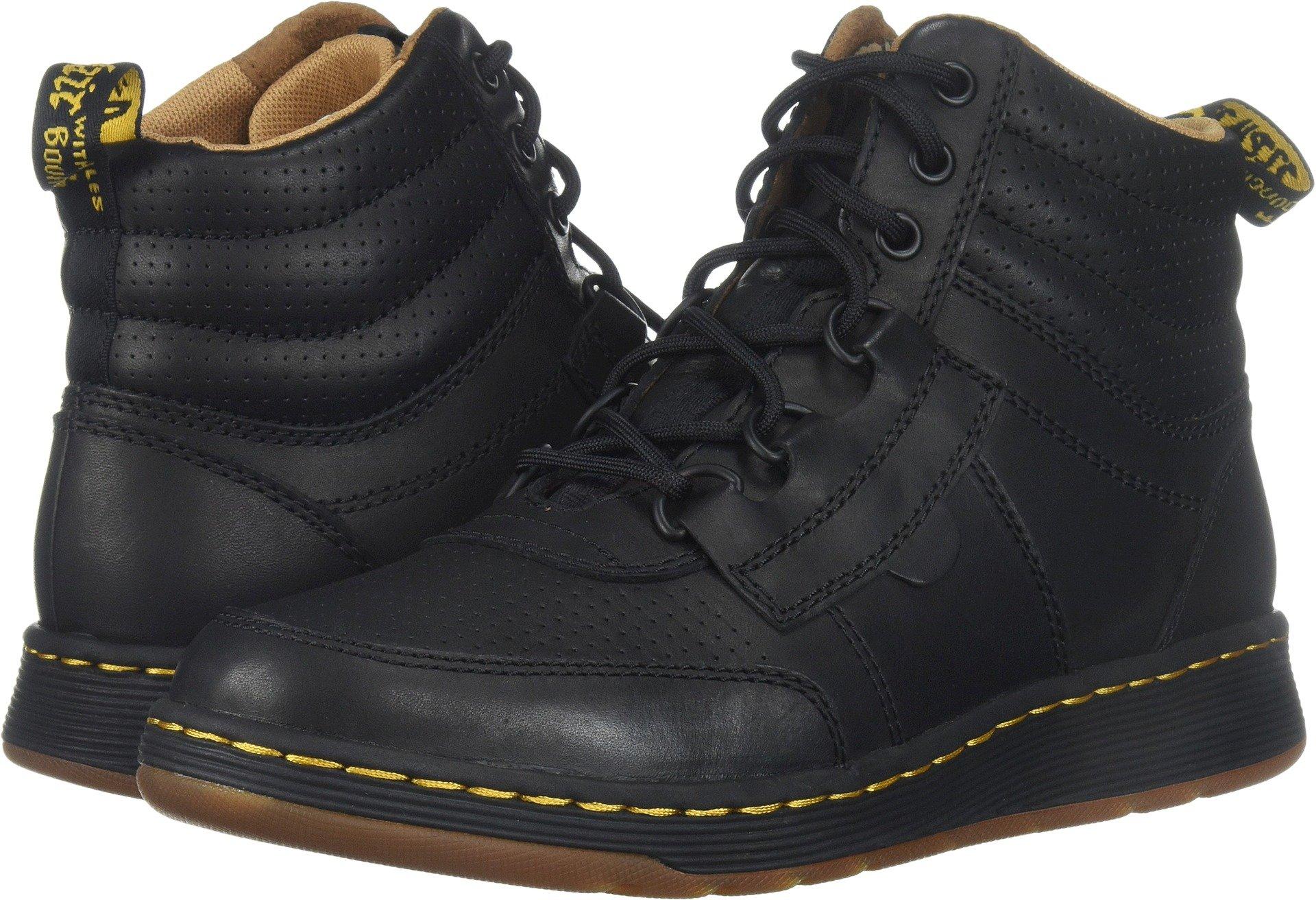 Dr. Martens Men's Derry Chukka Boot, Black Temperley, 9 Medium UK (10 US)
