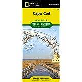 National Geographic Coastal Recreation Map Cape Cod Massachusetts