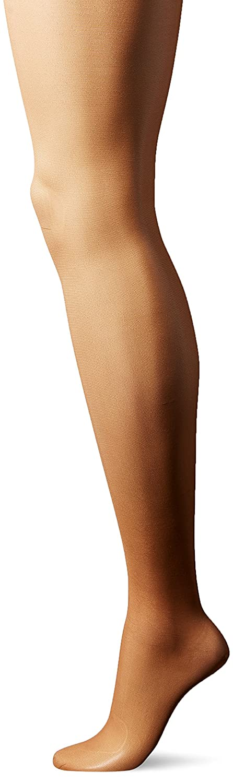 Leggs womens Silken 3 Pack No Waistband Control Top Panty Hose 20174