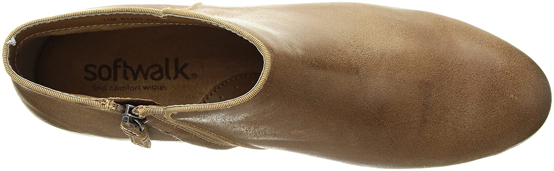 SoftWalk Women's Rocklin Chelsea Boot B01N0ZFWAF 9 W US|Sand