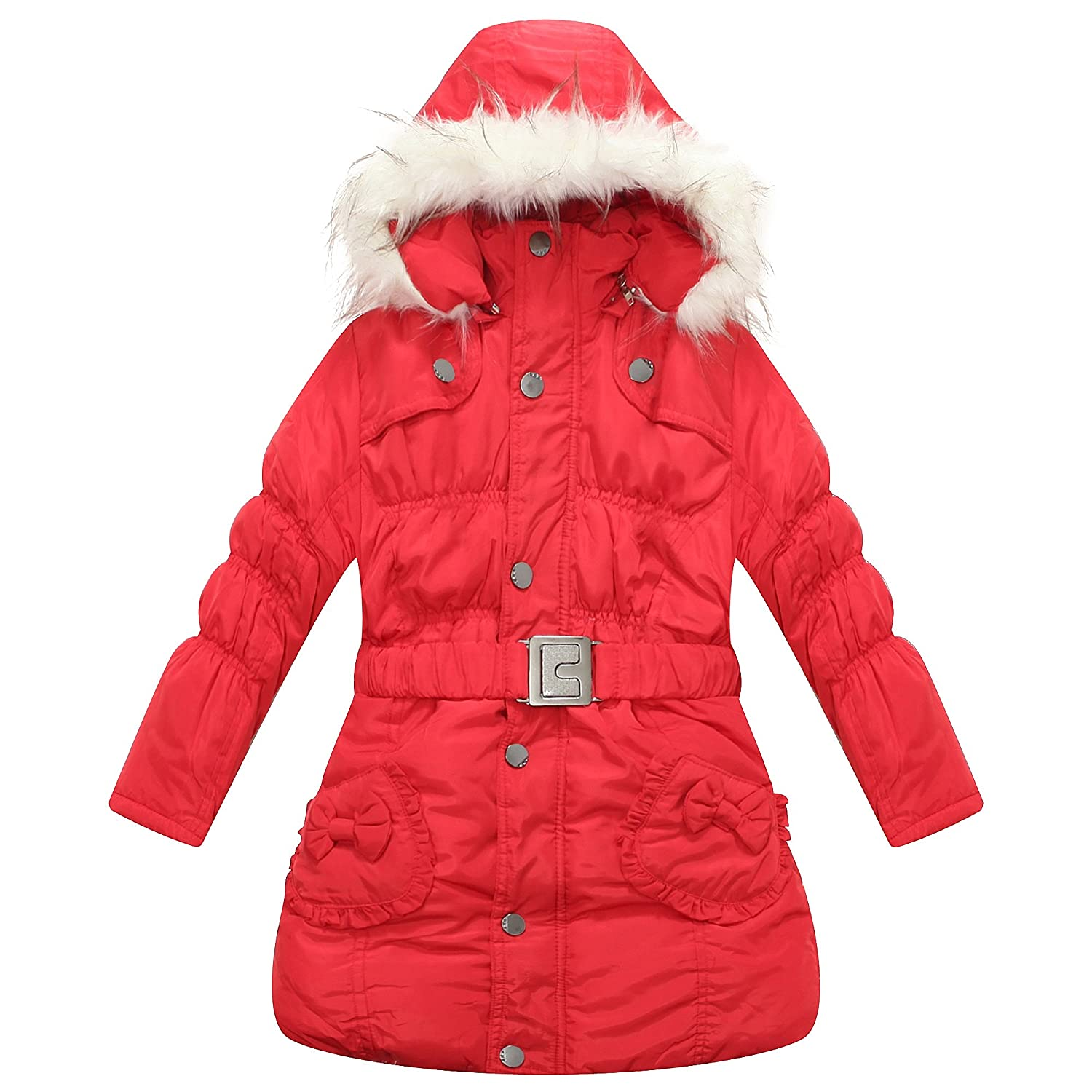 Richie House Girls' Padding Winter Jacket Size 4-10 Rh0785