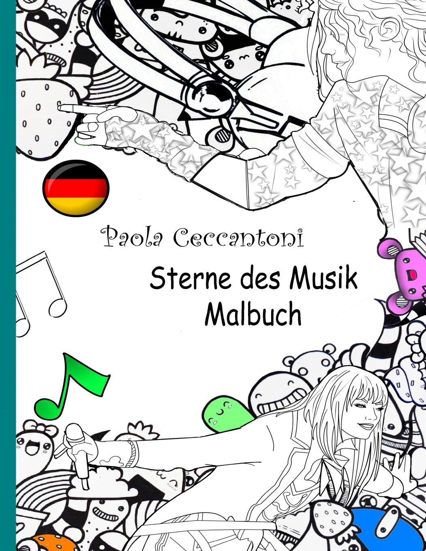 Amazon.com: Paola ceccantoni Sterne des Musik Malbuch: Michael ...