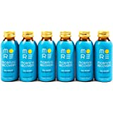Morning Recovery Drink - 6-pack Liquid Dietary Supplement with Dihydromyricetin (DHM), Milk Thistle, Vitamin B, Electrolytes, N-Acetyl Cysteine - 3.4 fl oz - Peach Flavored (Non-GMO, Vegan, Soy-free)