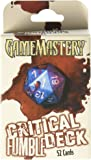 GameMastery Critical Fumble Deck for Dungeons and Dragons Styles May Vary