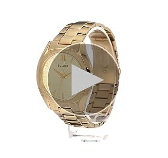 Bulova Men's 97B146 Analog Gold-tone Watch