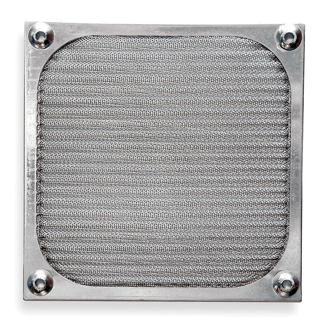 Dayton 2RTA8 Aluminum Filter Assy, For Fan Sz 3 5/8 In