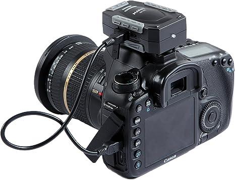 Marrex MX-G10 - Sistema GPS para cámara réflex Canon, Color Negro ...