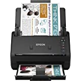 Epson Workforce ES-500W II Wireless Color Duplex Desktop Document Scanner for PC and Mac, with Auto Document Feeder (ADF) and