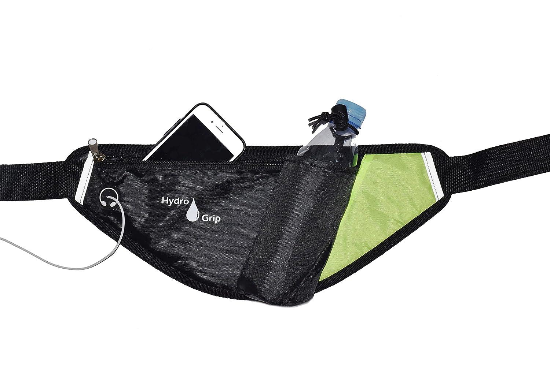 Original Hydro Grip Water Bottle Belt for Walking, Jogging, Hiking, Hydration Waist pack with Holder for phone, bottle, snacks, keys, etc. Bottle not included