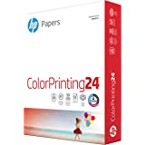 HP Printer Paper 8.5x11 ColorPrinting 24 lb 1 Ream 500 Sheets 97 Bright Made in USA FSC Certified Copy Paper HP…