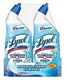 lysol bleach free toilet bowl cleaner 48oz 2x24oz w hydrogen peroxide