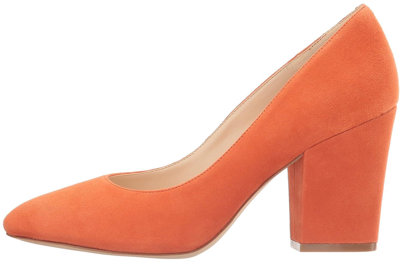Nine West Pump Women's Scheila Suede Dress Pump West B01ND1AK8F 5.5 B(M) US|Orange cf1ed3