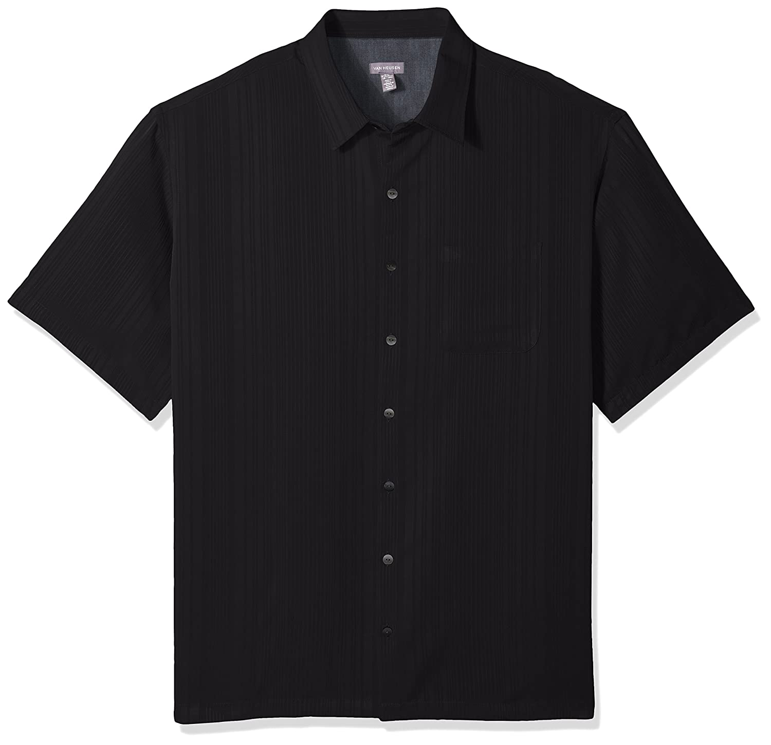 Van Heusen Mens Big and Tall Jacquard Short Sleeve Polo 50W5962